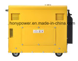 Petit générateur 5kw diesel silencieux refroidi à l'air portatif à vendre
