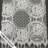 衣服のための優雅な花の綿かナイロンレースファブリック