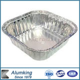 円形使い捨て可能なアルミニウム食糧容器