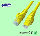 Alimentation en usine Coque solide CCA CCS Cuivre UTP Cat5e CAT6 RJ45 Patch Cord Jumper Jack RJ45
