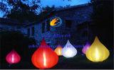 Iluminación inflable de la cebolla