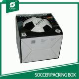 Коробка индикации футбола Corrugated картона с окном