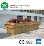 Decking de WPC para el crisol de flor al aire libre