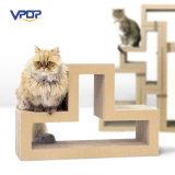 Fabricante de Fábrica Modular Cat Scratching Blocks Cartón Cat Scratcher