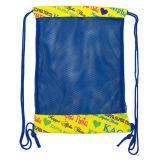 Sacs de cordon extérieurs encourageants de maille de bride de sac de sac à dos