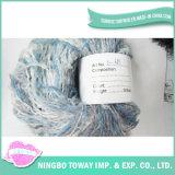 Le meilleur Boucle des prix tricotant à la main le filé tourné par polyester