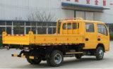 小さい4X2実用的な5つのTのダンプトラックの乗組員のタクシートラック5トンのダンプカーの貨物