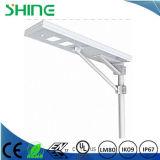 Indicatore luminoso di via solare Integrated montato Palo esterno del LED, indicatore luminoso solare impermeabile 50W di obbligazione