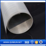 acoplamiento de alambre tejido del acero inoxidable de los 6m con alta calidad