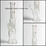 Hfyガラス卸売のWeedの管のためのマトリックスのPercの濾過器のタバコ管が付いている配水管を煙らすGlassworks 13インチのMobiusの