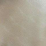 波は家具のソファーの作成のための総合的なPVC革を並べる