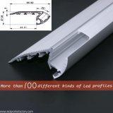 P/N 4134. Profilo di alluminio speciale del LED per illuminazione della scala