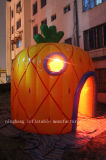 Шатра купола формы ананаса шатер раздувного раздувной с светом СИД