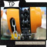 2 Tonne 3 Meter Handkettenhebevorrichtung-/manuelle Kettenhebevorrichtung-/Kettenriemenscheiben-Block