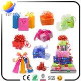 Contenitore di regalo impaccante di lusso di natale (modello impaccante del contenitore di contenitori di regalo della decorazione del cartone del nastro o di regalo del cartone)