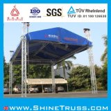 400x400mm Aluminio Box Truss Truss Etapa
