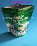 Fastfood- Reißverschluss-zusammengesetzter Nahrungsmittelplastikbeutel