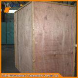 Cabina industrial manual de la capa del polvo con las ruedas móviles