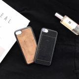 Caixa de couro do plutônio da caixa do telefone de pilha para o iPhone
