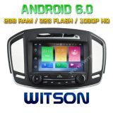 Véhicule DVD de l'androïde 6.0 de faisceau de Witson huit pour les insignes 2014 d'Opel