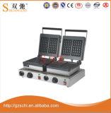 Double générateur principal de gaufre de forme/machine électrique de générateur de gaufre