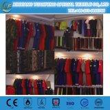 Het rode Zuivere Katoenen Antistatische Industriële Overtrek van Uniformen