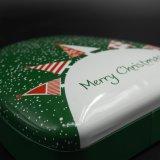 عيد ميلاد المسيح يشكّل قصدير صندوق لأنّ سكّر نبات يعبر ([ت003-ف4])