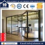 Puerta BI-Plegable del marco de aluminio con precio de fábrica