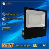 2016 iluminación al aire libre caliente 150W de la inundación de la venta IP65 LED con 3 años de garantía