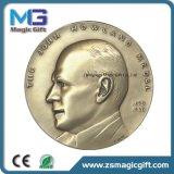 높은 판매 싼 가격에 의하여 주문을 받아서 만들어지는 작은 금속 동전 메달