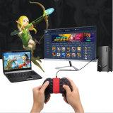 Ventas Gamepad androide de la fábrica de Shenzhen las mejores con el clip para los juegos móviles