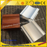 Perfil de aluminio electroforético del grano de madera cristalino de la pintura del alto grado