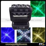 luz movente movente do diodo emissor de luz do feixe da cabeça RGBW do feixe do diodo emissor de luz de 4X4 16PCS 15W