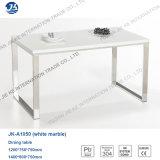 2016 мебелей нордического лоска Minimalism металлического высокого квадратных обедая