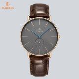 De Mensen van horloges vormen Horloge 2017 toenamen de Horloges Relogio 72704 van de Gouden Toevallige van het Kwarts van het Horloge van het Leer Mensen van de Riem