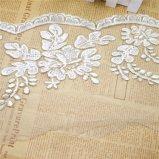 Breiten-Stickerei-Nylonfunkeln-Stein-Netz-Spitze-Polyester-Stickerei-Zutat-Fantasie-Ineinander greifen-Spitze des Großverkauf-20cm für Kleid-Zusatzgerät u. Hauptgewebe u. Vorhänge