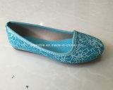 子供のための平らなバレリーナの女の子の服靴