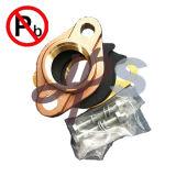 Encaixe de bronze do medidor de água da ligação NSF-61 livre aprovada para o abastecimento de água bebendo