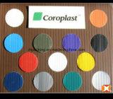 пластмасса 2mm/3mm/4mm/5mm/6mm цветастая PP Corrugated покрывает ультразвуковую заварку Correx Coroplast Corflute для коробок или пластичного подноса
