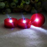 Velas opcionais do diodo emissor de luz da vela da cor viva esperta