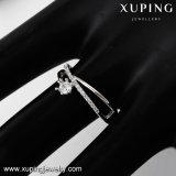 14094의 형식 로듐 예쁜 다이아몬드 핑거 약혼 반지