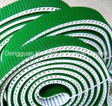 PU 시기를 정하는 벨트 코팅 PVC 또는 고무 물결 모양 장