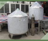 Réservoir de stockage de jus sanitaire en acier inoxydable pour la ligne de production de jus