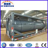 Conteneur de citerne liquide chimique de 20 pieds dans un conteneur de réservoir ISO de 24 cap