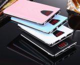 Carregador de telefone portátil, Lanterna externa Mobile Powerbank e 3 USB / LCD Screen / LED Torch Portable Power Bank