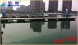 高い量によって電流を通される鉄骨フレームの/Waterの浮遊ポンツーンのプラットホーム