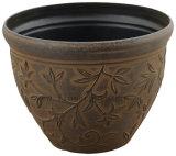 Potenciômetro de flor antigo da decoração de Roma (KD9401P-KD9403P)