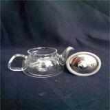 crisol de cristal Heat-Resisting del té de 200ml Handblown con Ce