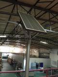 un ensemble de réverbère solaire de lampe élevée de 8m