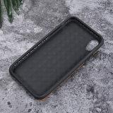 Caja verdadera del teléfono del cuero genuino para el iPhone 8